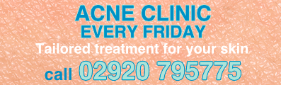Acne Treatment Every Monday - Call 02920 795775